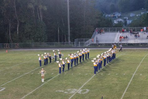Marching Cavaliers join the Thunder