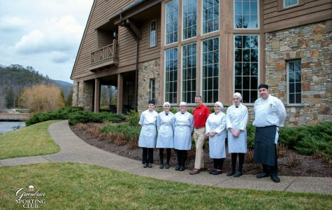 Greenbrier West Culinary Students Attend National Apprentice Day at the Greenbrier Sporting Club