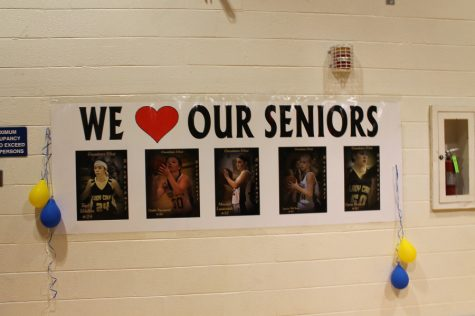 Senior Night, Girls Basketball