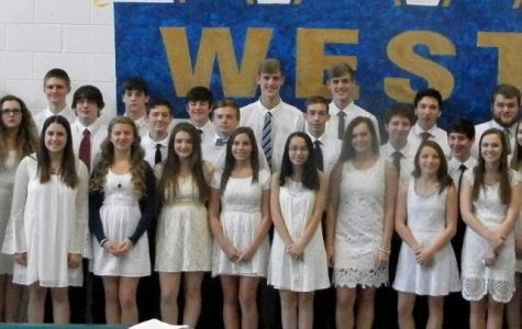 Greenbrier West National Honors Society Inducts 36 New Members
