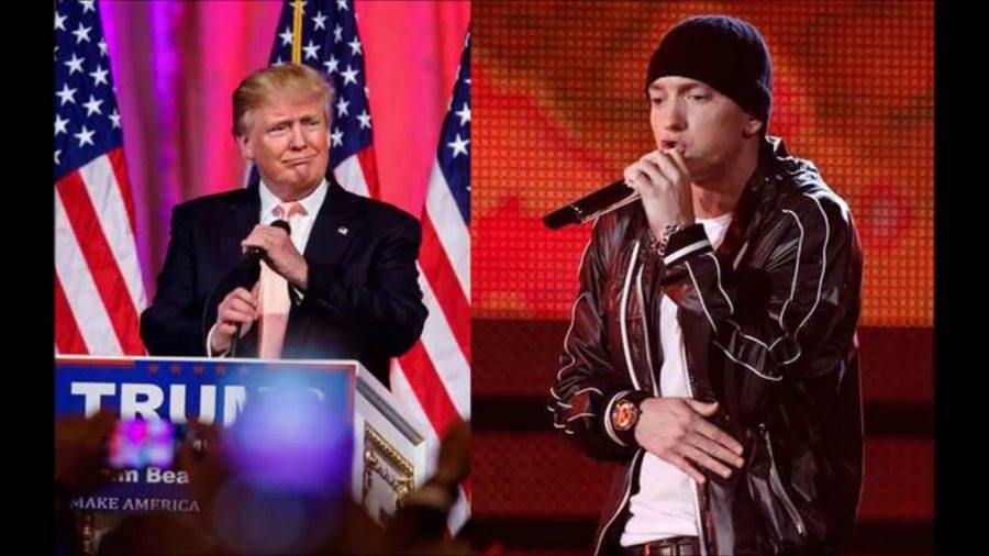 Eminem vs Donald Trump