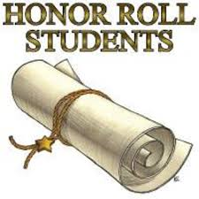 Honor Roll Students 1st Nine Weeks