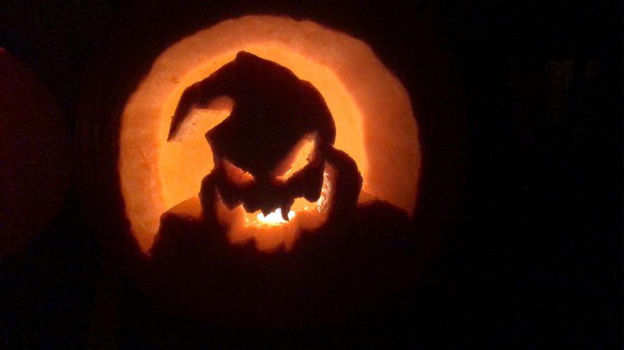 carved jack o-lantern