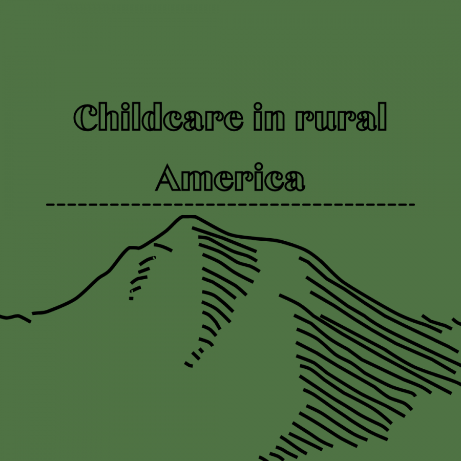 Childcare in rural America Canva infographic Greenbrier West Cavtalk 2021 Lee Cline
