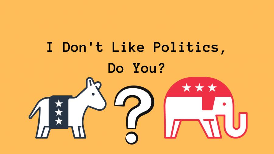 I Don't Like Politics, Do You?