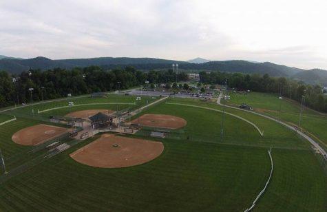 4 softball fields