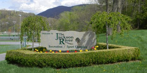 Rock Welcome Sign
