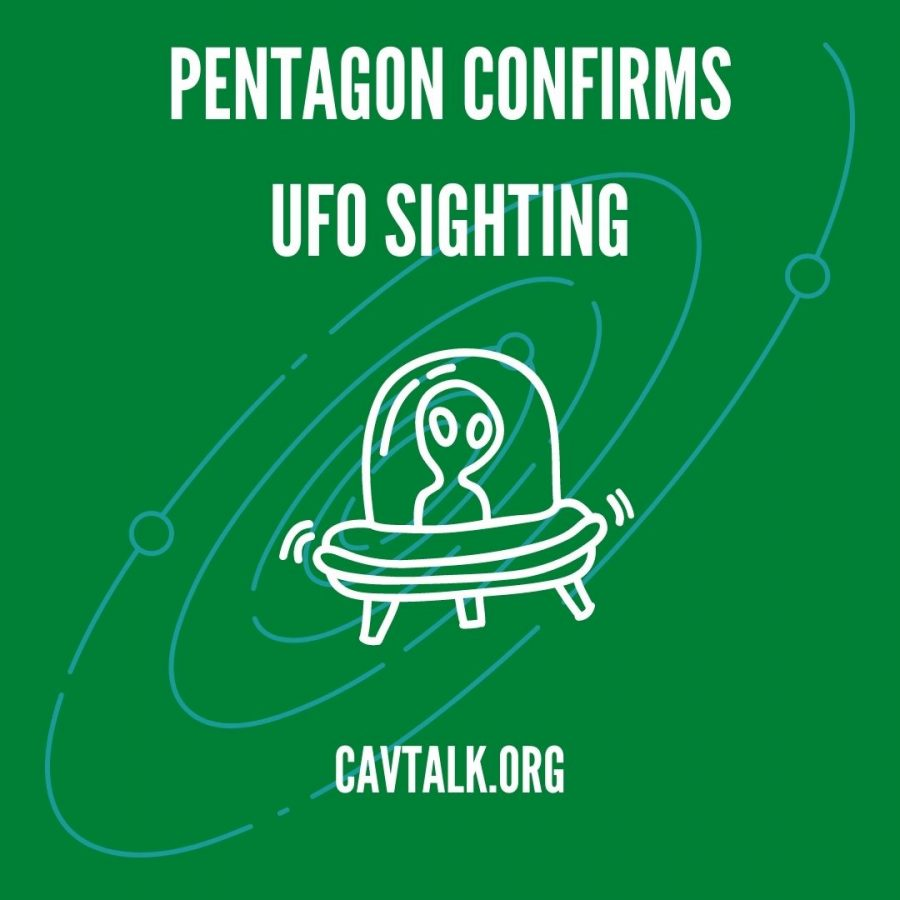 PENTAGON COMFIRMS UFO SIGHTING CANVA INFOGRAPHIC LEE CLINE