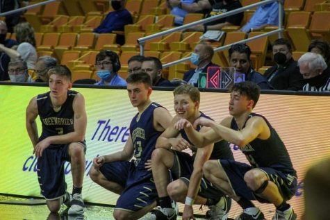 Four West Basketball Players at States