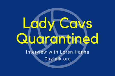 Lady Cavs Quarantined