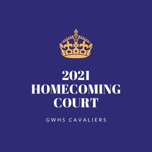GWHS 2021 Homecoming Court